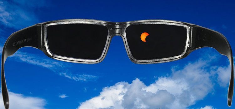 How to View the Sun Safely With Eclipse Glasses