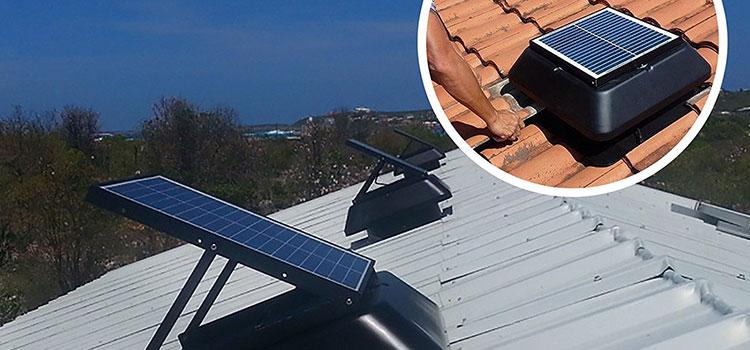 Best Solar Attic Fan Top 5 Reviews In 2018 Mage Solar