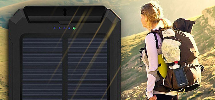 Best portable solar charger by Mage Solar