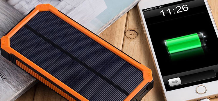 Technology for Portable Solar Chargers