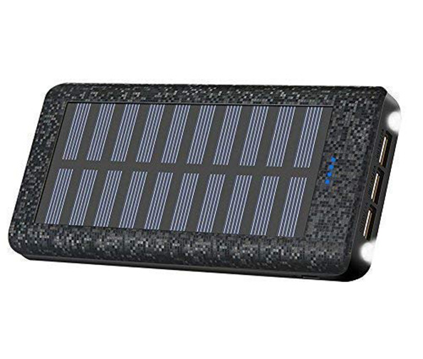 Be-Charming Portable Solar Charge Bank