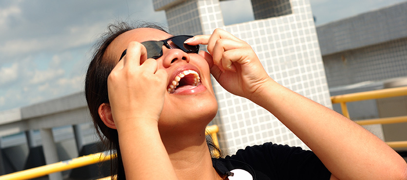 How to Make Solar Eclipse Glasses