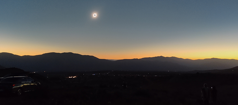 It's dark during a solar eclipse, so I can look at the sun, right