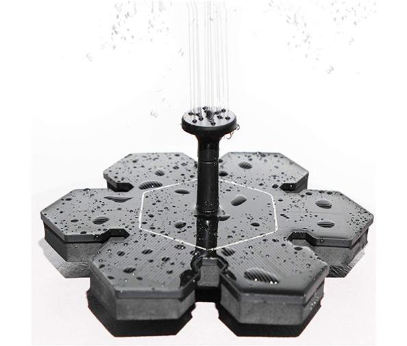 LATITOP Solar Bird Bath Fountain