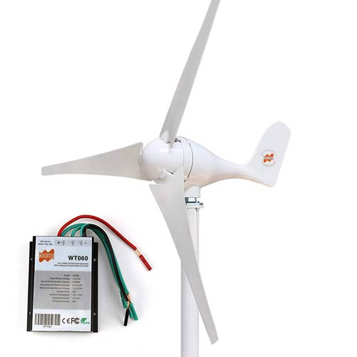 MarsRock Solar Wind Turbine Hybrid Generator