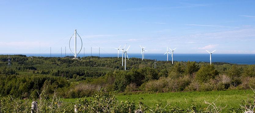 Types of Vertical Wind Turbines
