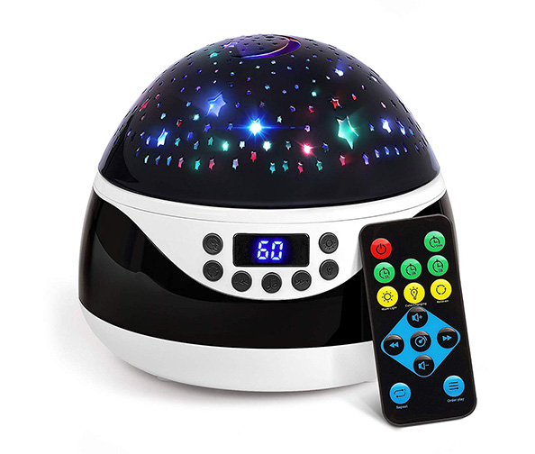 2019 Newest Baby Night Light, AnanBros Remote Control Star Projector