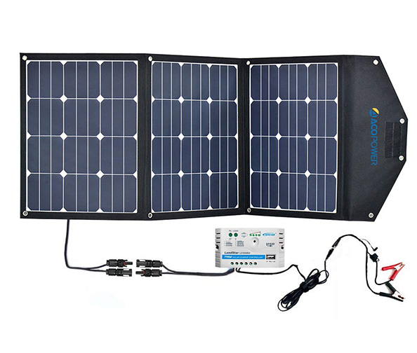 ACOPOWER HY-3x35W18V2 Solar Panel Kit (105W Foldable Solar Panel)