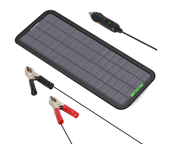 Allpowers 18V Portable Solar Car Battery Maintainer