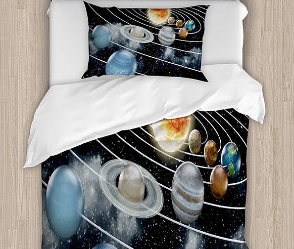 Ambessone Solar System Bedding Set
