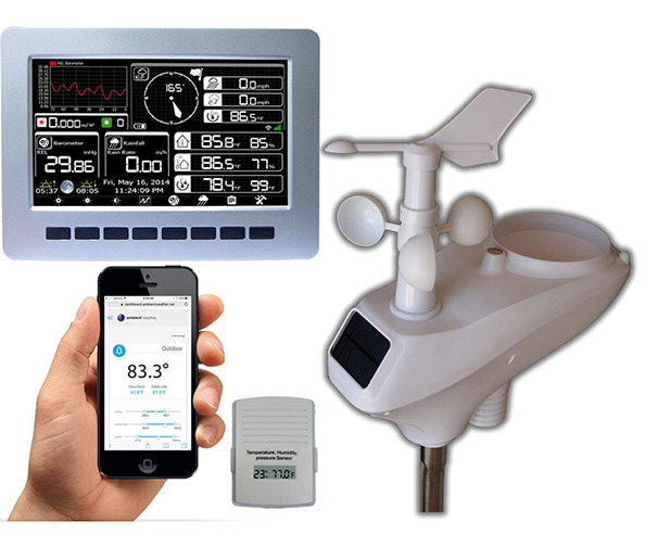 Ambient Weather WS-1002-WIFI OBSERVER Weather Station