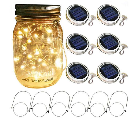 Aobik Solar Mason Jar Lights