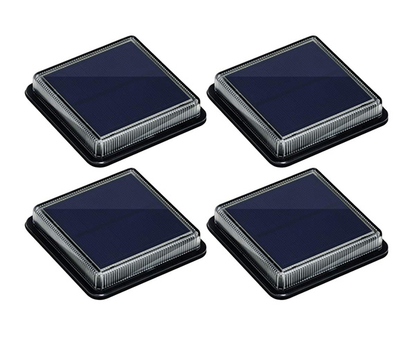 BarcoLE Solar Powered Deck Step Lights