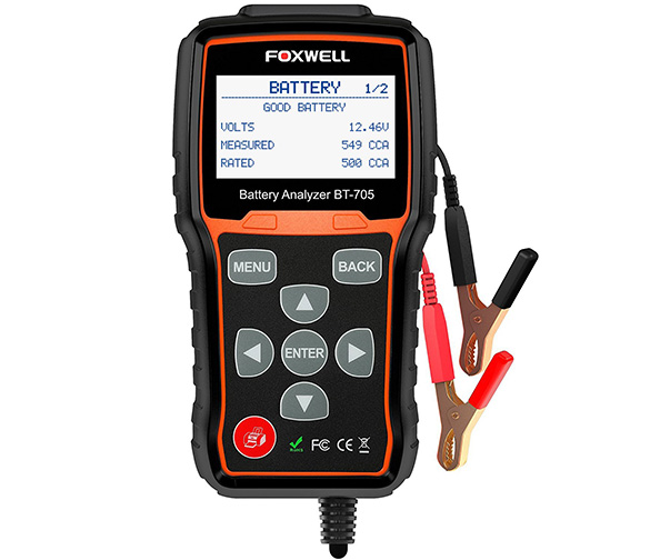 Battery Tester FOXWELL BT705