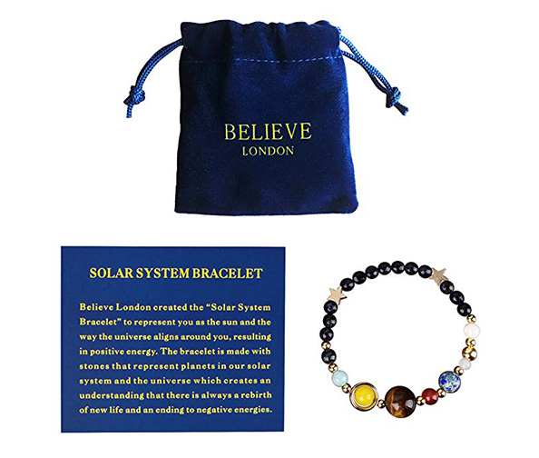 Believe London Solar System Bracelet