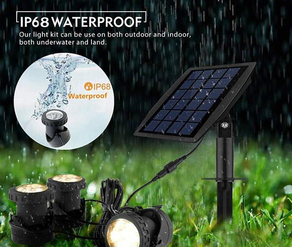 Biling Solar Powered Underwater Night Light