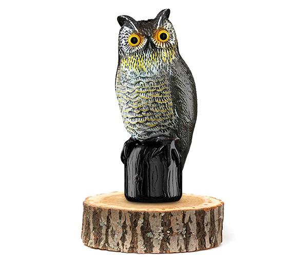 Britenway Premium Solar Powered Owl
