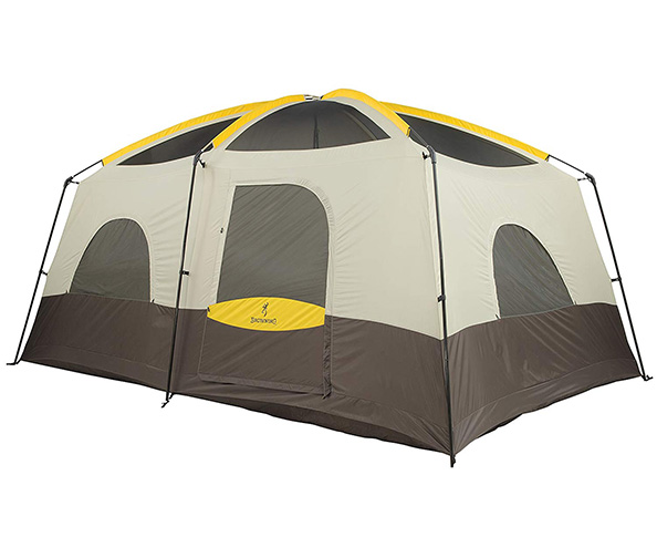 Browning Camping Big Horn Tent + BLAVOR Solar Charge Panel
