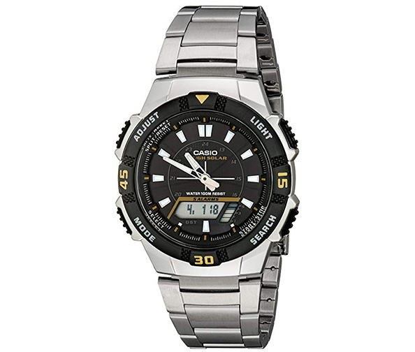 CASIO Men's AQS800WD-1EV Analog-Digital Watch