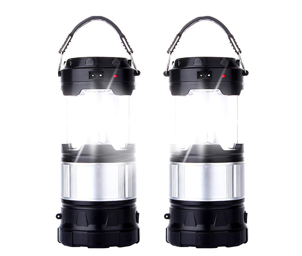 CaseTop 2 Pack Outdoor Camping Lamp
