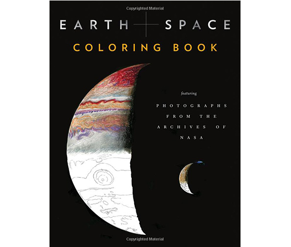 Chronicle Books presents NASA's Earth and Space Coloring Book