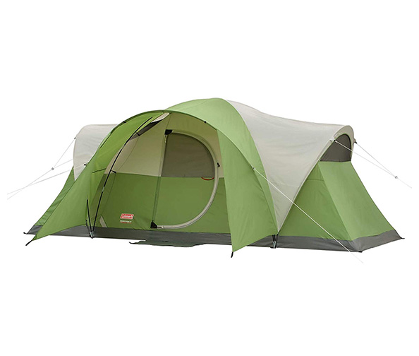 Coleman 8 Person Tent + Stanstar Camping Lantern/Panel