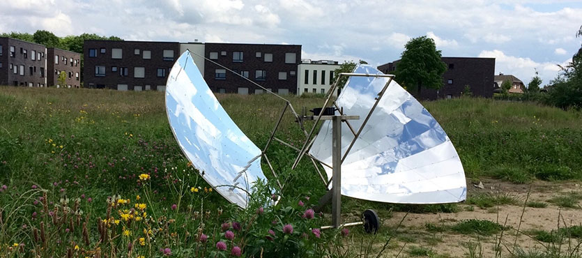 Cooking in Your DIY Solar Oven