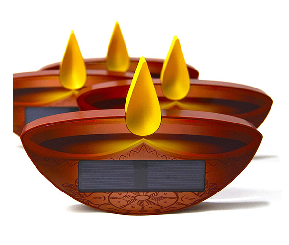 Cre8vProducts Solar Diwali Candle