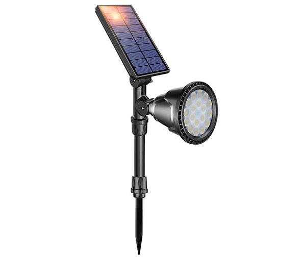 DBF Solar Lights Outdoor 18 LED Waterproof Sign Light