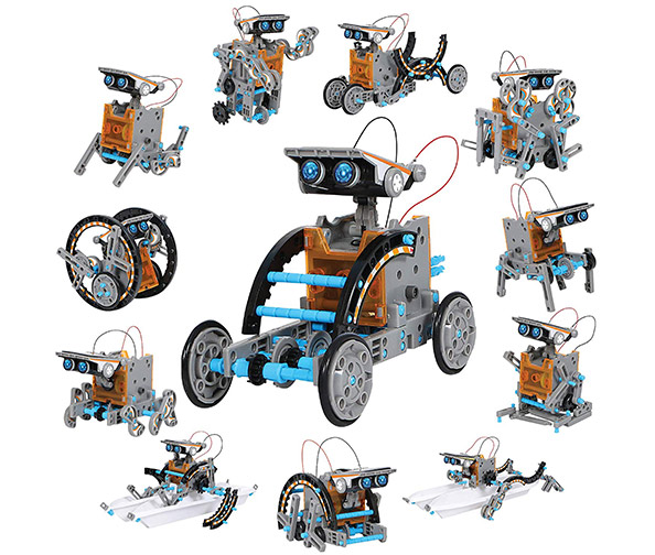 Discovery Kids 12-in-1 Solar Robot Kit