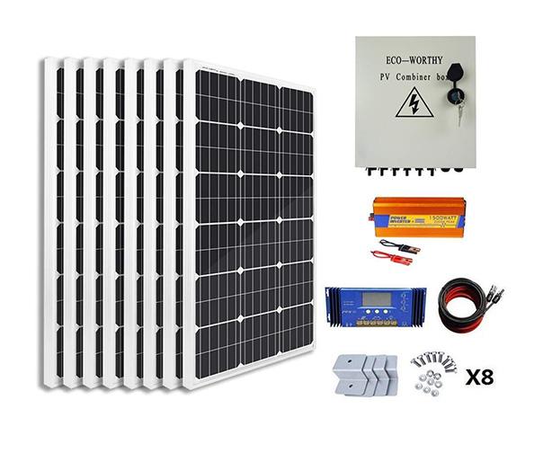 ECO-WORTHY 800 Watt Solar Panel Kit