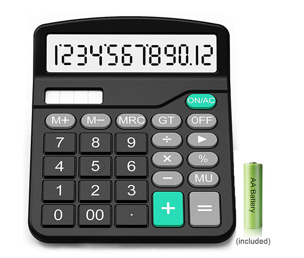 EastPin Basic Solar Powered Calculator
