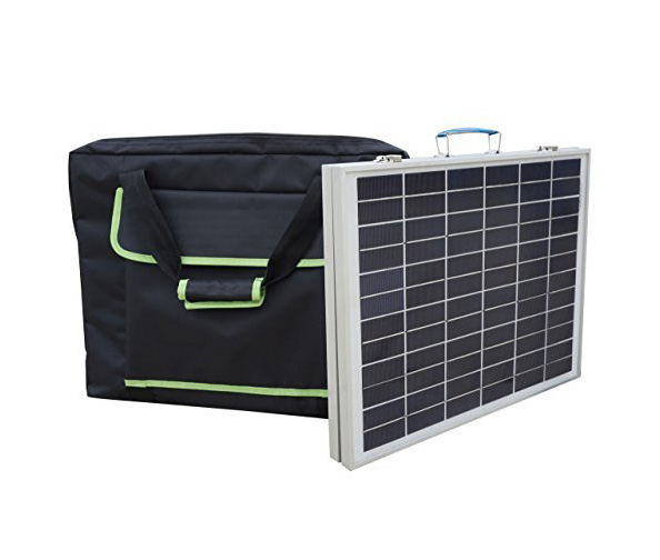 Eco-Worthy 40W Solar Panel Kit with Handbag
