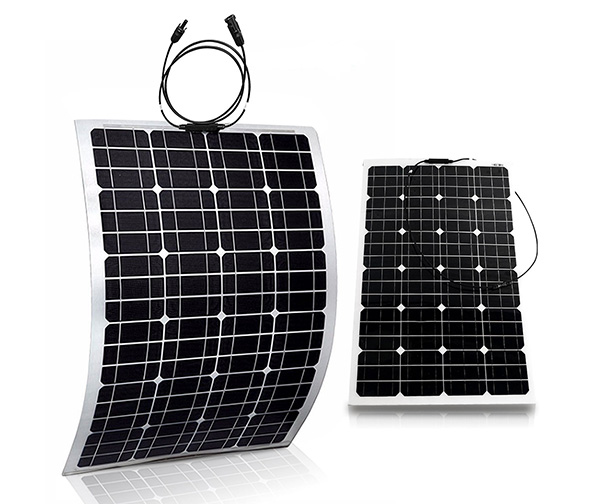 GENSSI 100W Flexible PV Solar Panel (x2)