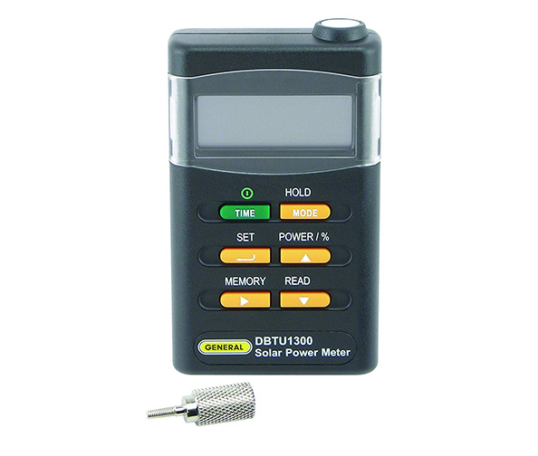 General Tools DBTU1300 Digital Solar BTU Power Meter