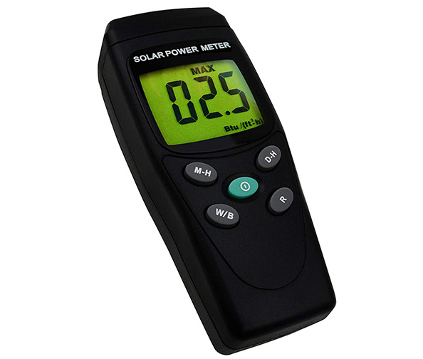 Handheld Digital Solar Power Meter (Pyranometer)