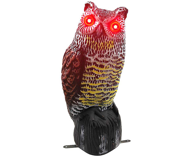 Hausse Solar Owl Decoy