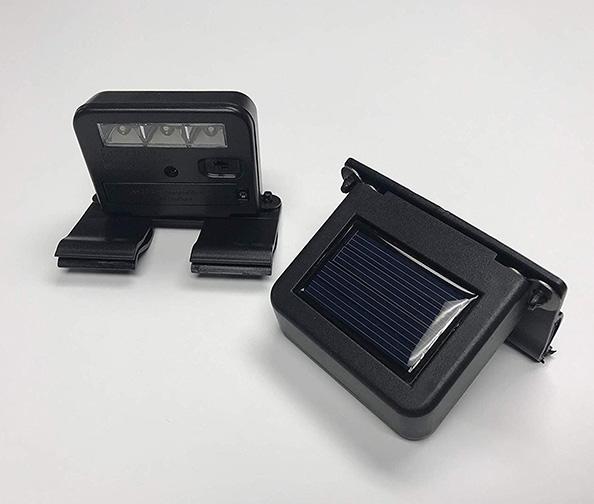 Homebrite Solar Powered Deck Wunder LED Sign Spotlight