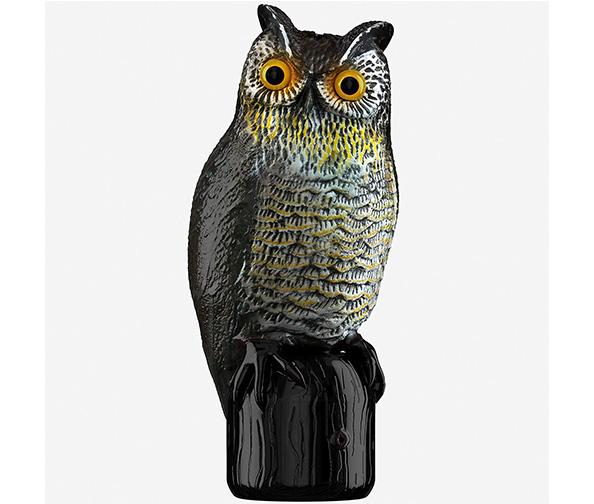 Hoont Realistic Solar Power Owl