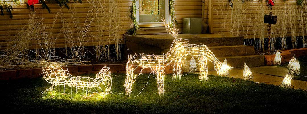 Ideas for Decorating with Solar Powered Fairy Lights