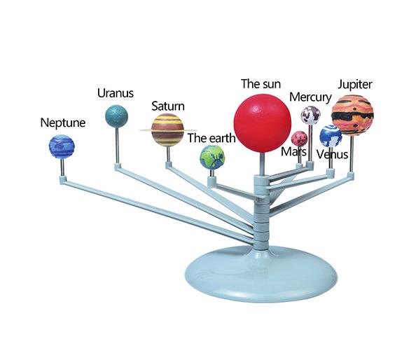 Ioffersuper 1 Pcs Solar System Labs Solar System Planetarium Model for Kids