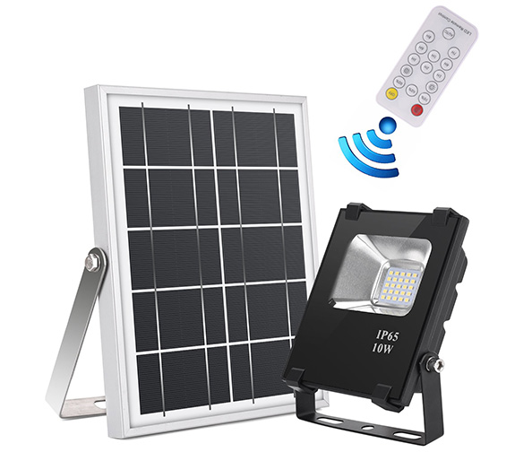 JPLSK Solar Flood Light + Remote Control