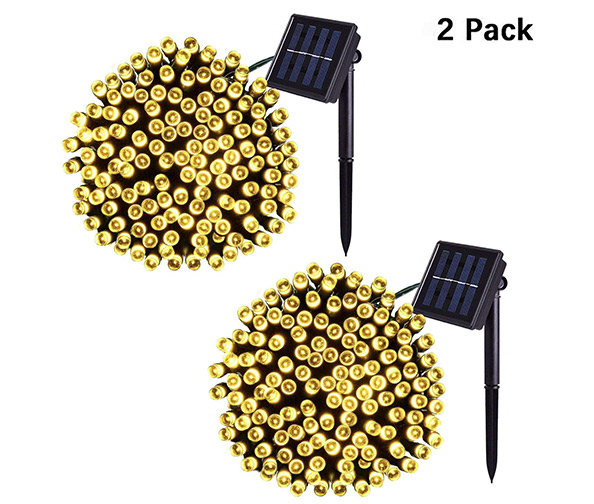 Jiamao 2 Pack Solar String Light