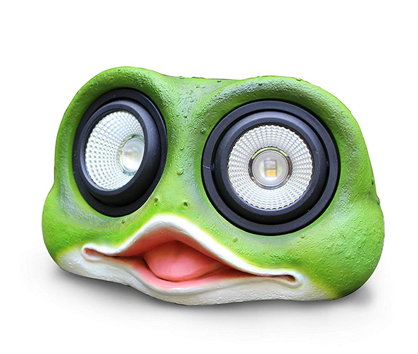 KANSTAR Dual Head Solar Powered Rock Lights (Frog)