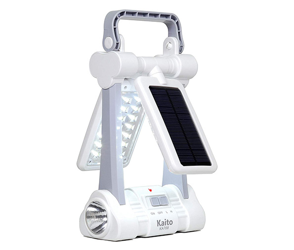 Kaito KA768 Multi-functional Twin-Panel Rechargeable & Portable Solar LED Lantern