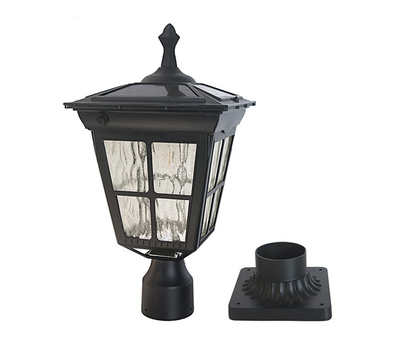 Kemeco ST4311AQ LED Cast Aluminum Solar Post Light