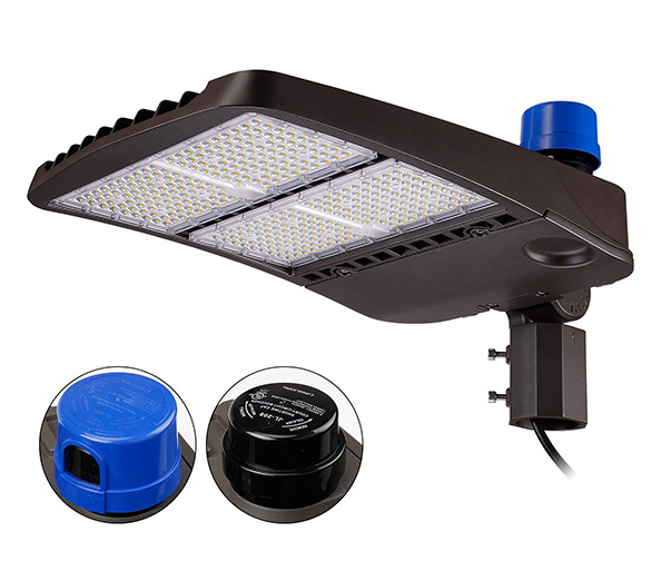 LEONLITE 300W Ultra Bright LED Parking Lot Light
