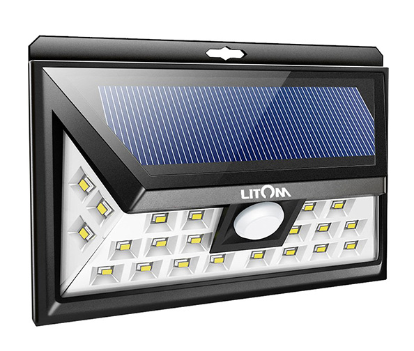 LITOM Original Solar Lights Outdoor