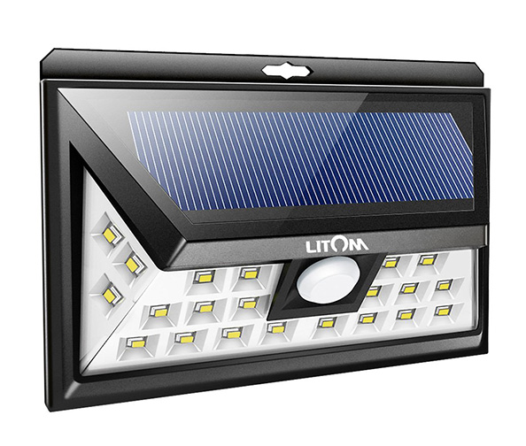 LITOM Original Solar Powered Motion Lights