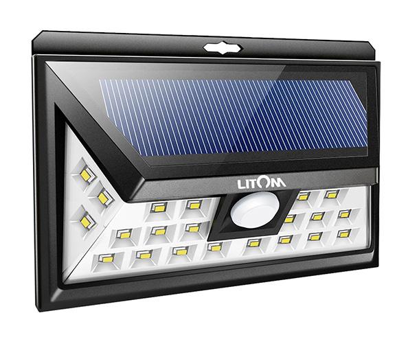 Litom Solar Motion Lights